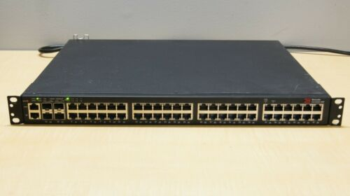BROCADE ICX6450-48P 48Port PoE 4x 1GB SFP or 10GB SFP Stackable Switch w/ Ears