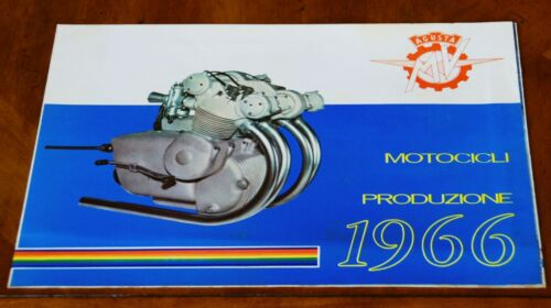 MV Agusta 1966 range brochure Prospekt (Italian text)
