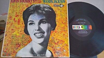 Wanda Jackson - Lovin´ Country Style - Decca Records DL 4224 - US Original segunda mano  Embacar hacia Argentina