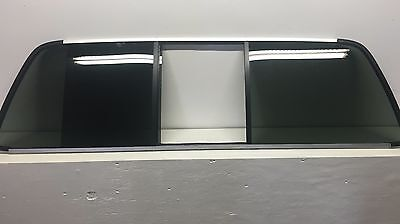 2005-2007 Ford F-250-750 Rear Back Sliding Window Glass With No Center/ Motor