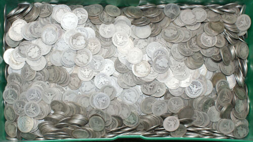 (1) 1892-1916 Barber 90% Silver Quarter 25c Coin Circulated from Mixed Lot