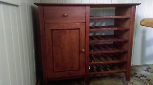 Sideboard Cabinet &  Wine Holder Warwick Southern Downs Preview