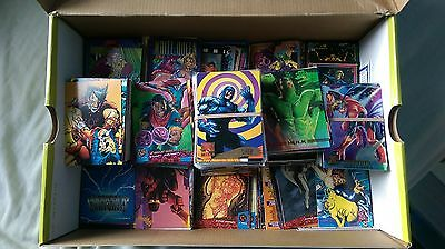 Marvel,DC,X Men,Spiderman,Wolverine,Marvel Masterpieces Single Cards For Sale