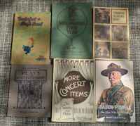 Scout Book Collection 1940's, 1950's, 1960's