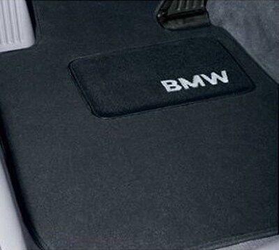 BMW OEM Black Carpet Mats 1999-2005 3 Series Sdn Wgn Cpe Non xDrive 82111470424