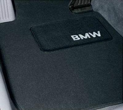 BMW X3 E83 Black Carpet Floormats  Mats 2004-2010 Set Of 4 Genuine Accessory