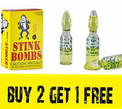 3 Stink Bombs ( BUY 2 BOXES GET 1 BOX FREE )