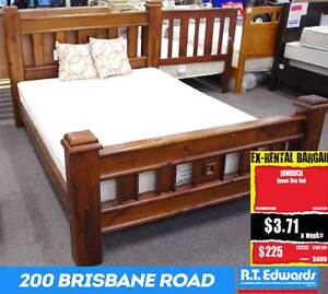 Jumbuck Queen Size Bed Booval Ipswich City Preview