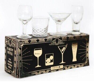 läser - Fun Design: Wein Martini Bier Whisky (Mini Martini-gläser)