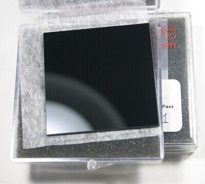 Thorlabs 50.8mm Sq. Colored Filter Bandpass 325-385nm Kg1 Schott Glass Fguvs