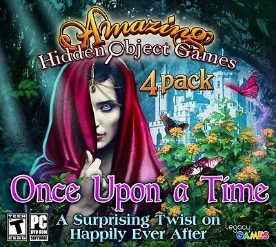Computer Games - Amazing Hidden Object Games Once Upon A Time PC Games Windows 10 8 7 XP Computer