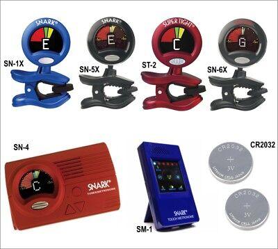 SNARK Clip-on Instrument Tuner for Guitar Bass, Brass & Violin - Choice of model