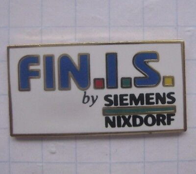 FIN.I.S by SIEMENS / NIXDORF / FROSCH  .................Computer Pin (141a)