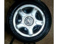 VW Polo Alloy Rims 4x Used 6N Lupo Original Aluminium Rim Aluminium 185/55 R14 80 (£20 Each Rim)