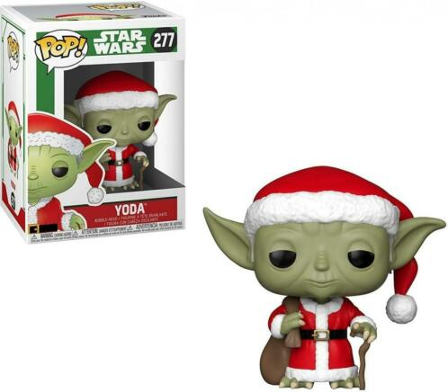 Star Wars Pop Vinyl: Yoda (Holiday Santa) (Merchandise)