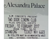 Two Door Cinema Club tickets for London concert