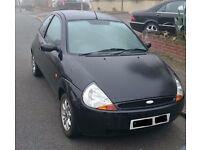 Ford KA Black 2006 1.3L 80,000 Manual Drive