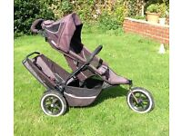 Phil and Teds sport double pushchair buggy