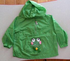 Girls Waterproof Hoodie age 3-4