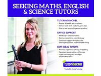 Seeking Maths, English & Science Tutors for all ages/levels - Join Tutor Doctor Hereford & Worcester