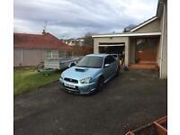 Subaru Impreza sti wr1 blue