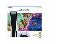 Brand New Sealed PS5 Disc edition console & Ratchet & Clank