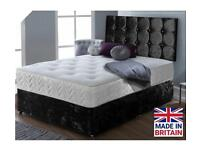 DELUXE BEDS SALE! Discounts on UK MANUFACTURED Beds with FREE Headboards and Delivery!!