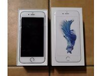 Apple iPhone 6S - 64GB - Silver (Unlocked) Smartphone - NEW Accessories
