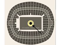 4 x tickets for Adele The Finale Concert in Wembley on 28.06.2017