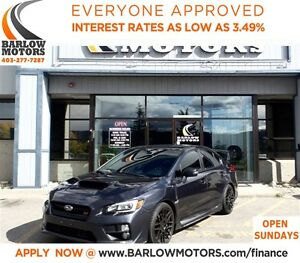 2015 Subaru WRX STi Sport-tech Pckge*EVERYONE APPROVED* APPLY NO