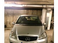 Mercedes A-class blu