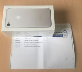 iPhone 7 Silver Brand New Sealed Box - o2
