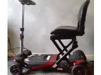 Solax fold-up mobility scooter