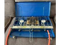 CAMPING GAZ ELITE DOUBLE BURNER AND GRILL