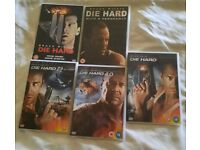 DIE HARD DVDS X 5