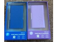 2 Gofi Portable Phone Chargers 2500mAh