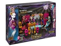 MONSTER HIGH - 13 WISHES PARTY LOUNGE ** BRAND NEW **