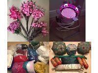 BARGAIN - Wedding Stages Business Asian Mehndi Backdrops Flowers Bouquet Arrangements Vases Candles