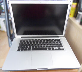 MacBook Pro 15.4 inch, Mid 2012 Intel i7 3rd Gen 2.6ghz 3.7 ghz turbo as pictured (Bath BA2)