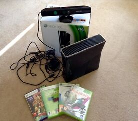 Xbox 360 Console & Kinect with games £55 or near offer