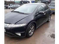 Honda Civic mk8 breaking parts
