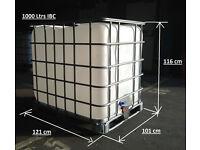 1000 Ltrs IBC storage tanks