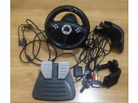 Speedlink Racing wheel for PS3-PS2-PC