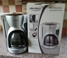 Bush Filter coffee Maker with Digital Timer