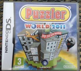 Nintendo DS world puzzler 2011