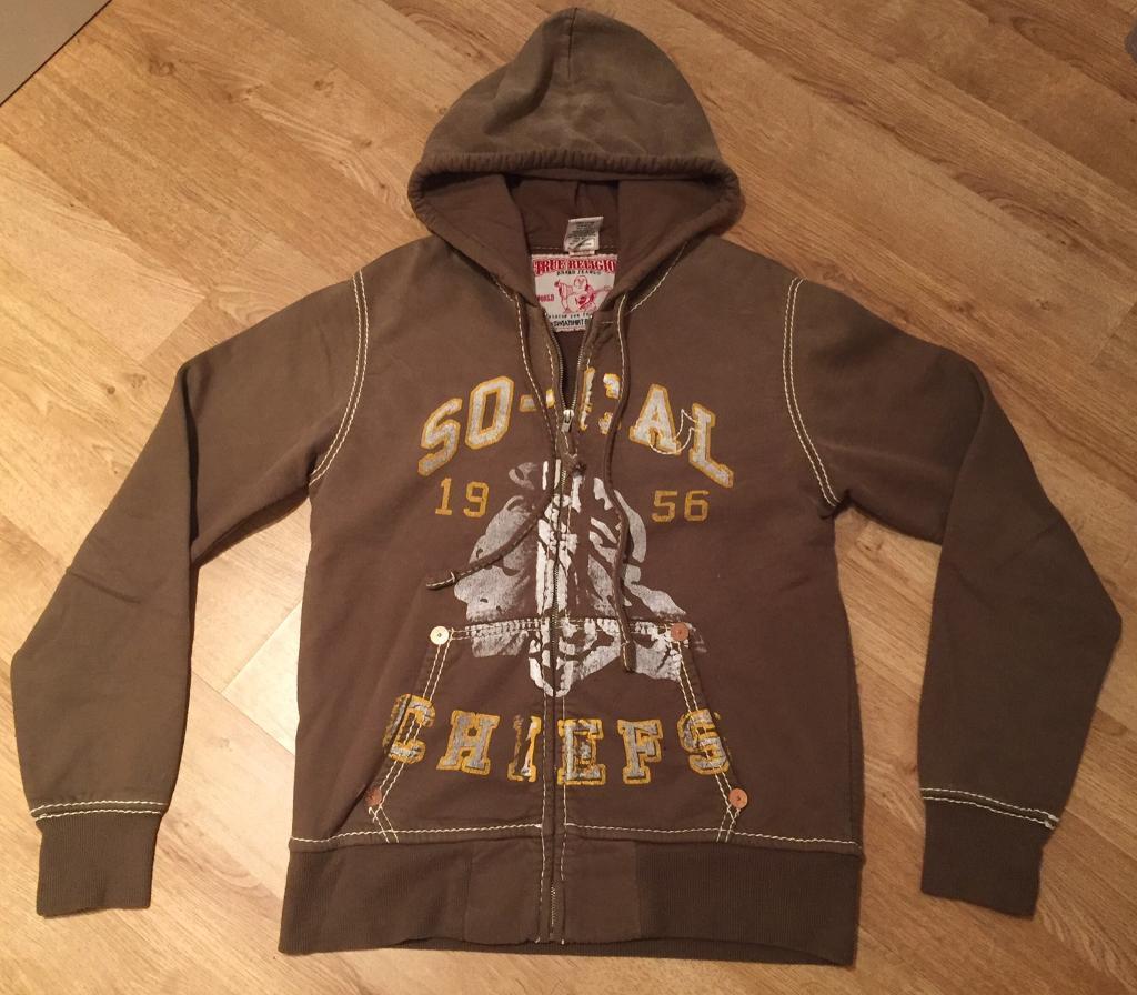 Brand new authentic men's medium True Religion hoodie.