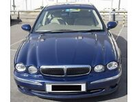 Jaguar X-Type 2.5 V6 AWD Petrol Manual - Years MOT. Full leather - Dark Blue. Only 84K miles