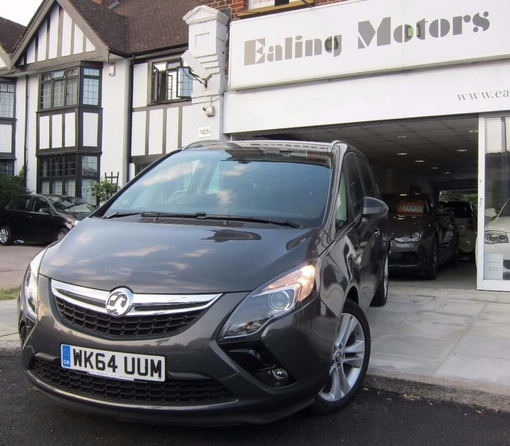 2014 VAUXHALL ZAFIRA SRI,TOURER,DIESEL,7 SEATS,TOP MODEL,LOW MILES,VAUXHALL WARRANTY,PARKING SENSORS