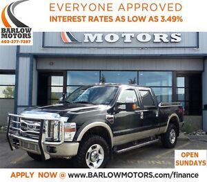 2009 Ford F-350 King Ranch**FULLY LOADED W/ DVD
