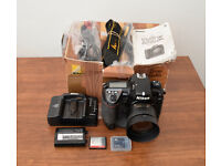 Nikon D2X 12.4MP Digital SLR Camera - Black (Body and accessories only)